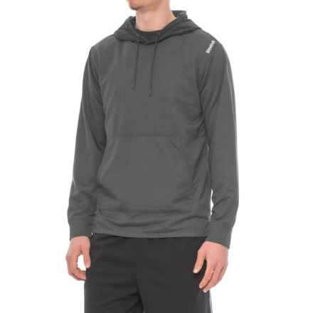 Reebok Tension Hybrid Hoodie (For Men) in Charcoal Heather - Closeouts