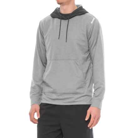 Reebok Tension Hybrid Hoodie (For Men) in Grey Heather - Closeouts