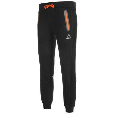 Reebok Traffic Joggers (For Boys) in Black - Closeouts