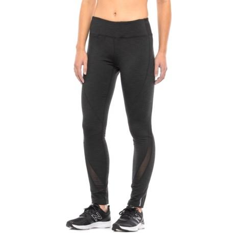 Reebok Trainer Fleece-Backed Leggings (For Women)