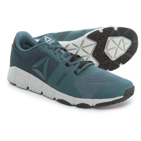 Reebok Trainflex 2.0 Training Shoes (For Men) in Paynes Grey/Black/Skull Grey