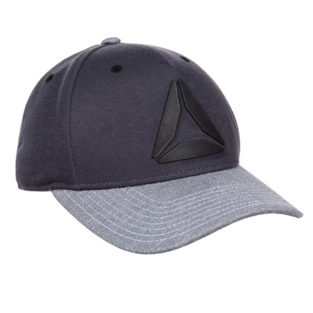 Reebok Two-Tone Weld Logo Hat (For Men) in Urban Grey - Closeouts b148efdf18c2