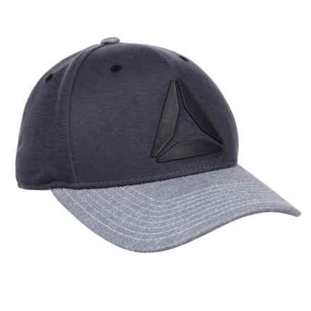 Reebok Two-Tone Weld Logo Hat (For Men) in Urban Grey - Closeouts b148efdf18c2
