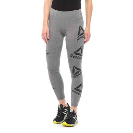c34f5f16df9f Reebok Ultimate 7 8 Leggings (For Women) in Flint Grey Heather