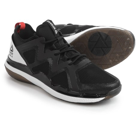Reebok Ultra 4.0 LM Training Shoes (For Men) in Black/Carotene/White