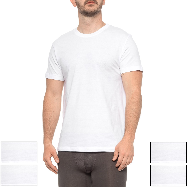 92fc0e7514 Reebok White Crew Neck T-Shirts (For Men) - Save 51%