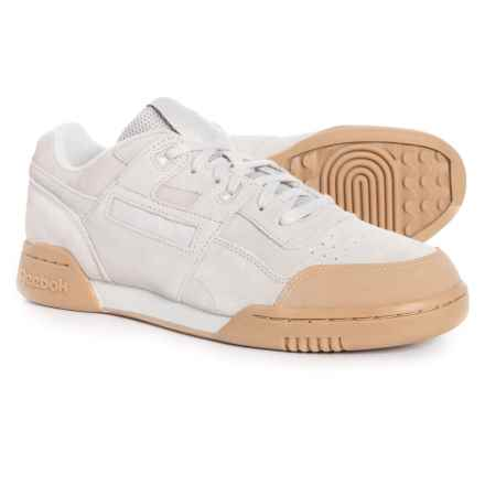 Reebok Workout Plus Training Shoes (For Men) in Skull Grey-Gum