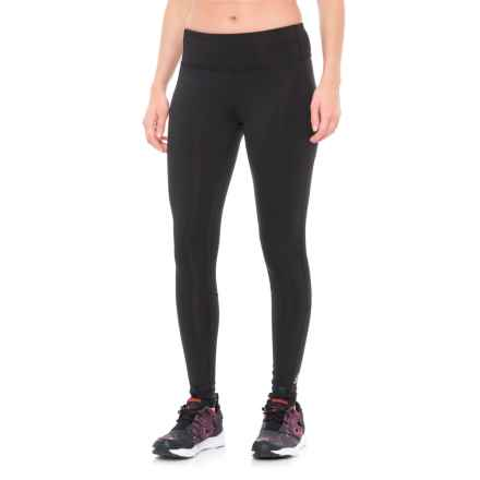 Reebok Workout Ready Leggings (For Women) in Black - Closeouts