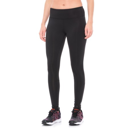 Reebok Workout Ready Leggings (For Women) in Black