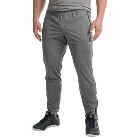 Reebok Workout Ready Stacked Logo Trackstar Pants (For Men) in Alloy - Closeouts