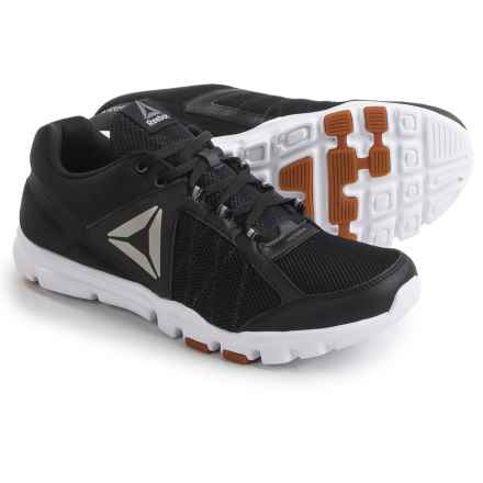 Reebok Yourflex Train 9.0 MT Cross-Training Shoes (For Men) in Black//White/Gum/Pewter - Closeouts