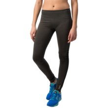 Reebok Zoom Leggings (For Women) in Charcoal Heather - Closeouts