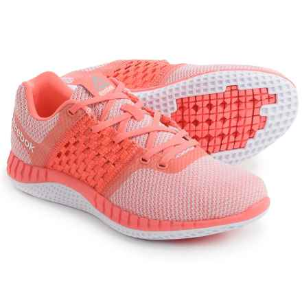 Reebok Zprint Run Ultraknit Running Shoes (For Women) in Stellar Pink/Cloud Grey/White/Pewter - Closeouts