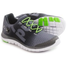 Reebok ZPump Fusion Running Shoes (For Men) in Shark/Gravel/Solar Green/White - Closeouts