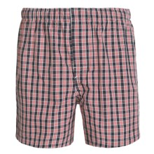 Reed Edward Boxer Briefs (For Men) in Navy Plaid - Closeouts