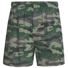 Reed Edward Boxer Briefs - Underwear (For Men) in Green Camo - Closeouts