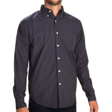 Reed Edward Check Shirt - Button-Down Collar, Long Sleeve (For Men) in Purple - Closeouts