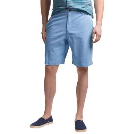Reed Edward Cotton Shorts (For Men) in Blue - Closeouts