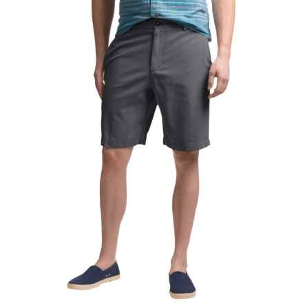 Reed Edward Cotton Shorts (For Men) in Midnight - Closeouts