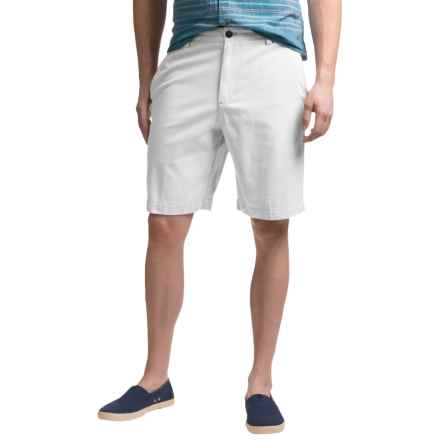 Reed Edward Cotton Shorts (For Men) in Off White - Closeouts