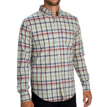 Reed Edward Plaid Shirt - Button-Down Collar, Long Sleeve (For Men) in Red/Blue/Green - Closeouts
