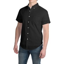 Reed Edward Shirt - Short Sleeve (For Men) in Black - Closeouts