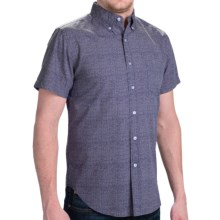 Reed Edward Shirt - Short Sleeve (For Men) in Navy - Closeouts