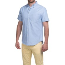 Reed Edward Shirt - Short Sleeve (For Men) in Solid Light Blue - Closeouts
