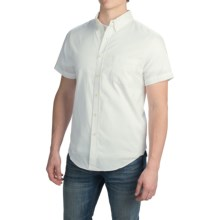 Reed Edward Shirt - Short Sleeve (For Men) in White - Closeouts