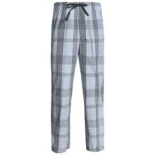Reed Edward Sleepwear Lounge Pants (For Men) in Black/Grey/Blue Plaid - 2nds