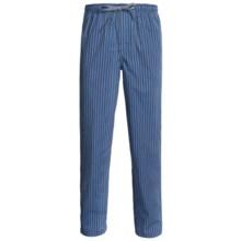 Reed Edward Sleepwear Lounge Pants (For Men) in Blue/Grey Stripe - 2nds