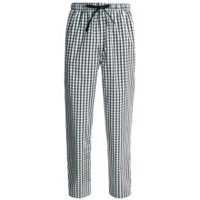 Reed Edward Sleepwear Lounge Pants (For Men) in Navy/Tan Plaid - Closeouts