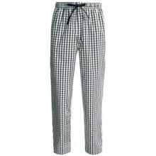 Reed Edward Sleepwear Lounge Pants (For Men) in Navy/Tan Plaid - Closeouts