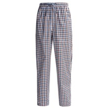 Reed Edward Sleepwear Lounge Pants (For Men) in Orange/Blue Plaid - Closeouts