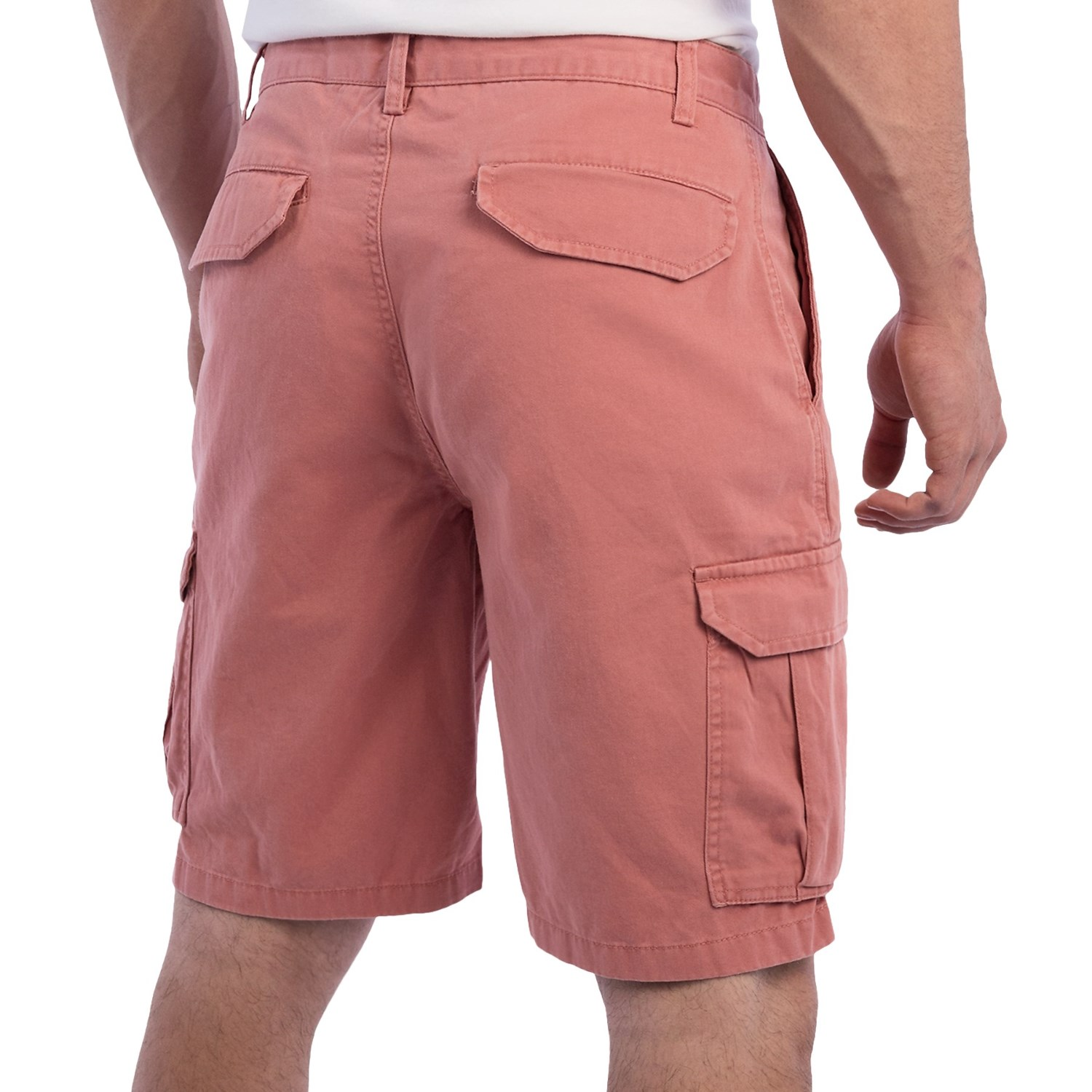 Revolution Men's Cotton Cargo Shorts with Belt Breathable cotton cargo shorts with multiple pockets and a tonal D-ring belt can be a comfortable choice for warm days Groupon/5(33).