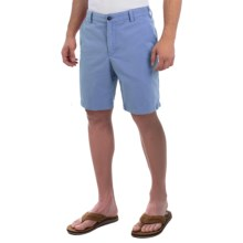 Reed Edward Stonewash Cotton Shorts (For Men) in Blue - Closeouts