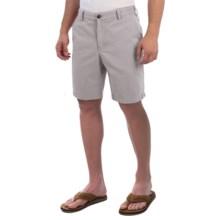 Reed Edward Stonewash Cotton Shorts (For Men) in Grey - Closeouts