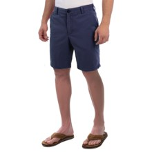 Reed Edward Stonewash Cotton Shorts (For Men) in Navy - Closeouts