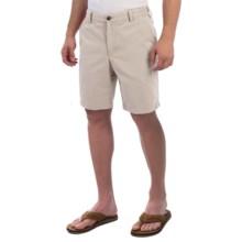 Reed Edward Stonewash Cotton Shorts (For Men) in Stone - Closeouts