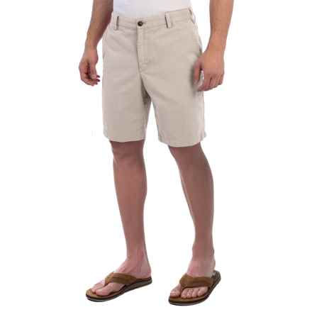 Reed Edward Stonewash Cotton Shorts (For Men) in Stone - Closeouts