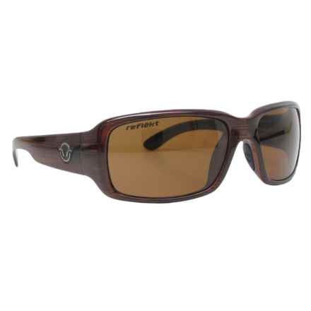Reflekt Contact Sunglasses - Polarized in Timber/Reactor Brown - Closeouts
