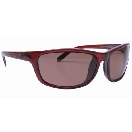 Reflekt Kraken Sunglasses - Polarized in Caramel/Core Brown