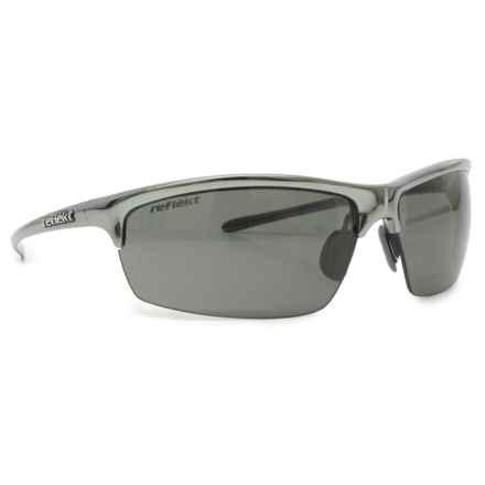 Reflekt Pulse Sunglasses - Polarized in Mercury/Core Grey - Overstock