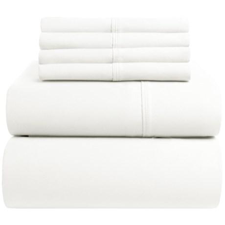 Regency Cotton Sateen Sheet Set Queen, 400 Tc
