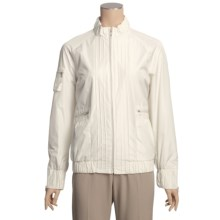 Regent Park Jacket - Wind and Water Resistant (For Women) in White - Closeouts