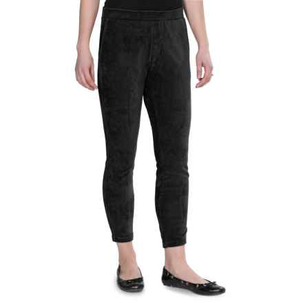 Regular Fit 2 Sport Leggings - Corduroy (For Women) in Black - 2nds