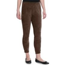 Regular Fit 2 Sport Leggings - Corduroy (For Women) in Chocolate - 2nds