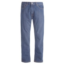 Regular Fit Denim Jeans - 5-Pocket (For Men) in Light Denim - 2nds