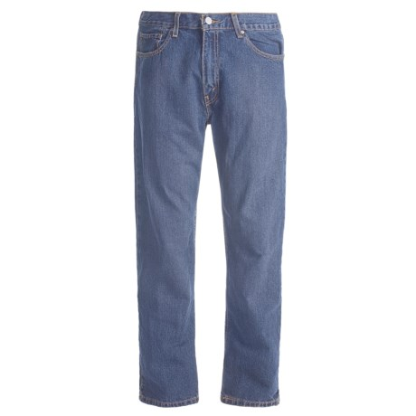 Regular Fit Denim Jeans - 5-Pocket (For Men) in Dirty Dark Denim