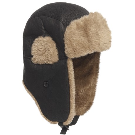 Reilly Olmes Aviator Hat - Insulated (For Men) in Black